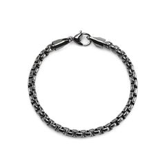 Blacktone Chainlink Bracelet – Craftsmanship and quality are at the forefront of this design so if you're shopping for the perfect look shop no more. Buy this bracelet and give your fashion style a glamorous personal twist! Our jewelry has enjoyed popularity and reverence all throughout the world. When we combine our hand-selected precious metals and stone materials with crafted sophistication a show-stopping design is made. Our collection has something for everyone. Have fun shopping!
