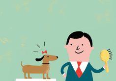 Piero Corva: www.folioart.co.uk/illustration/folio/artists/illustrator/piero-corva - Agency: www.folioart.co.uk - #illustration #art #digital #dog