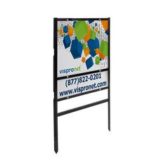 Sign frames available with or without bottom rider Made from powder-coated steel Includes clear push screws to attach real estate signs to frame Use with x signs and x riders Designed for outdoor use only Available in x x dimensions Custom Yard Signs, Real Estate Signs, Frames, Powder, Steel, Outdoor, Design, Outdoors, Face Powder