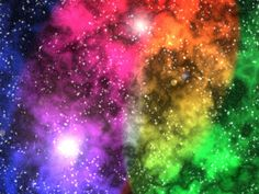 Rainbow Sparkle Unicorn | Rainbow Clouds/Fire & Ice in ...