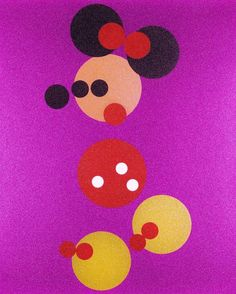 Minnie Mouse Art by Damien Hirst