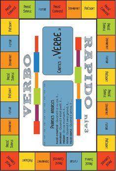 verbo-rapido - verb conjugation game