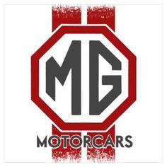 Mg car posters | CafePress > Wall Art > Posters > MG Cars Wall Art Poster