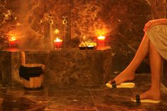 Hammam traditionnel, relaxation et méditation AL Mendili Marrakech spa & resort