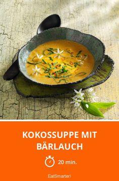 Kokossuppe mit Bärlauch - unbedingt ausprobieren!