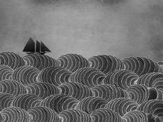 The Ancient Sea Art Print by Beth Thompson | Society6