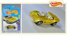 Gas Monkey Garage HW '68 Corvette from the 2017 E-Case :  http://superfunhotwheels.blogspot.com/2017/08/hw-68corvette-gas-monkey-garage.html