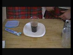 Coca-cola, sal, azúcar y mentos