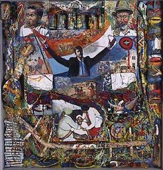 Kakebeen by Willie Bester - Contemporary African Art Collection Jackson Pollock, Afrique Art, Protest Art, Contemporary African Art, South African Artists, National Gallery Of Art, Art Institute Of Chicago, Museum Of Modern Art, French Artists