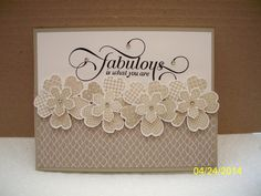 Fabulous by D. Daisy - Cards and Paper Crafts at Splitcoaststampers