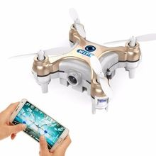 2016 Upslon CX-10W CX 10W Drone Dron Quadrocopter RC Quadcopter Nano WIFI Drone with Camera 720P FPV 6AXIS GYRO Mini Drone New