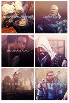 Edward kenway isn't up there...his would be the merciful.any who.I love assassins creed:)