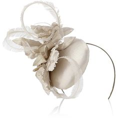 Jane Taylor orchid fascinator. I'm sure I could rock this at...the office?