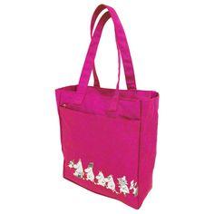 Pinkki muumi shopperkassi moomin.com sivustolta