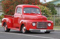 1948 Ford Truck, Ford V8, Ford Pickup Trucks, Custom Trucks, F1, Antique Cars, Classic Cars, Tools, Board