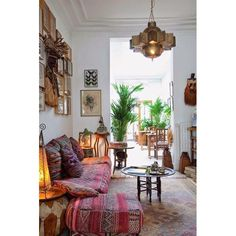 Instagram photo by I N T E R I O R L O V E R • Moroccan inspired home