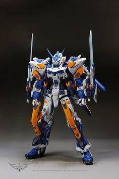 MG 1/100 Gundam Astray Blue Frame Third - (Resin Conversion) Custom Build - Gundam Kits Collection News and Reviews