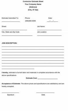 Hospice medication profile form worksheets pinterest hospice free estimate template 15 maxwellsz