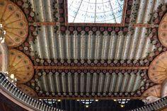 BARCELLONA - Palau Musica Catalana tetto