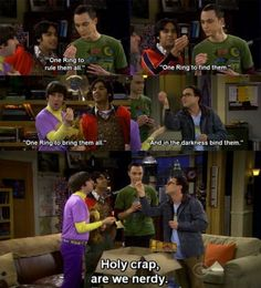 One of my favorite episodes of Big Bang Theory