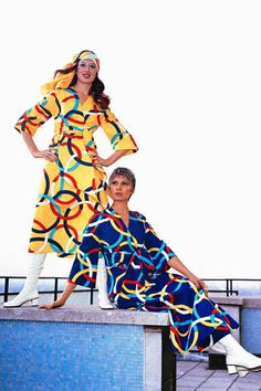 Olympic Airlines attire designed by Yiannis Tseklenis (1971)