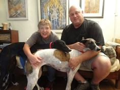 Many congrats to the new happy family! Olivia and Lady Bird were adopted…