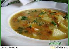Kedlubnová polévka s mrkví a novými bramborami recept - TopRecepty.cz