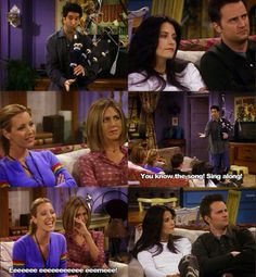 A Hilarious selection of the best and funniest Friends TV Show Quotes and Sayings. Life and Love Quotes with pictures from the tv Show 'Friends'. Friends Tv Show, Tv: Friends, Serie Friends, Friends Scenes, Friends Moments, I Love My Friends, Friends Forever, Funny Friends, Friends Phoebe
