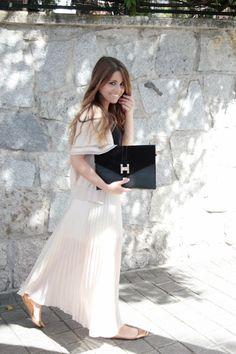 #look #lookLoreto #lookBautizo #bautizo #lookcomunion #boda #lookboda #maxifalda #eventos #lookevento
