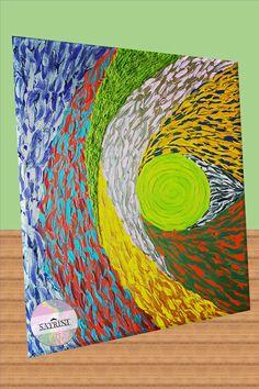 Abstract Art / Art Abstrait / Abstrakte Kunst / Abstraktné Umenie (Colorful) | Art by Satrini | Timeless Color Collection | Paintbrush Malerei | Malmittel | Zeichnung | Malerei Themen | Zeitgenössische Kunst | Acrylgemälde | Leinwandgemälde | Maltechniken Acrylic color on canvas | Digital art technique | New Art Collection | Abstract Art | Abstract Wall Art | Abstract Painting | Abstract Art Prints | Modern Abstract Art | Abstract Art Ideas | Abstract Art For Sale | Abstract The Art of… Art Abstrait, Paint Brushes, Abstract Art, Photo And Video, Artwork, Instagram, Design, Contemporary Art, Paint Techniques