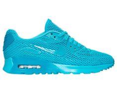 SALE!! Swarovski Nike Blue Air Max Women Nike 90 Ultra Blinged with SWAROVSKI® Crystals
