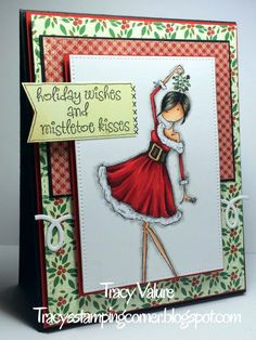 Tracy's Stamping Corner Tracy Valure Perfect Paper Crafting Design Team Member and Brand Ambassador. Great layers using Perfect Layers Mini tools.