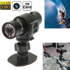 Professional Product Easy to Use F9 Full HD 1080P Action Helmet Camera / Sports Camera / Bicycle Camera, Support TF Card, 120 Degree Wide Angle Lens. The World's Most Versatile Camera. 1. Waterproof. Its applicable to all kinds of extreme outdoor weather. 2. Metal solid aluminum shell. Its applicable to all kinds of extreme risk. 3. The built-in motor, alert working conditions by vibrating. 4. Ultra small size, ultra light weight, and easy to carry.