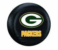 NFL Green Bay Packers Tire Cover Black Large -- Continue to the product at the image link.