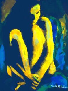 Nocturnal Reverie Painting by Helena Wierzbicki