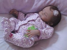 Reborn Preemie Baby Girl: Faith sculpt by Heather Boneham for Bountifulbaby