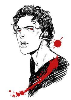 Gavriel. #Coldest Girl in Coldtown #Cassandra Jean