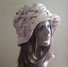 Ivory Hat - Mother of the Bride / Bridal - Handmade - Ready to Ship - OOAK, one of a kind. $65.00, via Etsy.