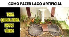 LAGO ARTIFICIAL DE CIMENTO - FAÇA VOCÊ MESMO!