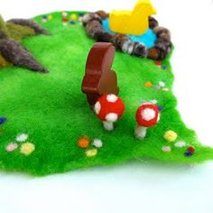 How to make a felted playscape - xmas idea?
