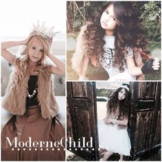 ✨These dollies just love the Mia Fur Vest! So many different ways to style it! Pick one up today at www.modernechild.com . Enjoy FREE SHIPPING !! ✨ #fur #furvest #kidsclothes #kidsfashion #style #photoshoot #adorablekidsclothes #trendsetter #trendykids #tigertee #instafashion #instakids #modernechild #minime