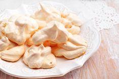 Microwave meringues