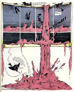 """Fred: Philemon. """"Fred Artistidès, who published under his given name Fred, was a French artist of absurd and surrealistic comics, like his series 'Philémon'."""""""