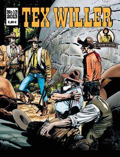 Tex Willer -lehti no 13/2013. #sarjakuva #sarjakuvalehti #sarjis #egmont