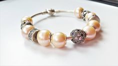 Beaded Bracelet Sterling Silver Made to Order