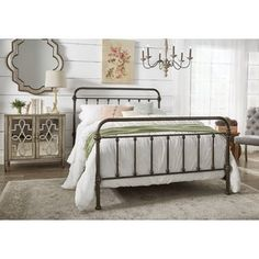 Shop Wayfair for all the best King Size Wrought Iron Beds. Enjoy Free Shipping on most stuff, even big stuff.