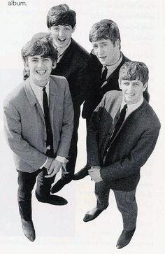 Paul McCartney, John Lennon, George Harrison, and Richard Starkey (1963)