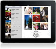 Portfolio for iPad. Awesome for in-person proofing sessions.