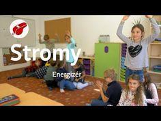 Energizér Stromy, je spojený s hudbou a obľúbený u najmenších žiakov. Ako názov energizér napovedá, pomáha dodať energiu deťom, ktoré už v lavici zaspávajú. Victoria Secret, Pe Lessons, Physical Education, Physics, Family Guy, Teacher, Classroom, School, Workout