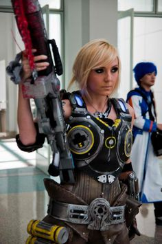 Gears of War Gamer Girl. I will make Shauna one of these!
